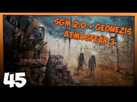 Stalker SGM 2.0 + Geonezis + Atmosfear 3 Прохождение - Часть #45[Тайники Монолита, ДетСад и Стрелок]