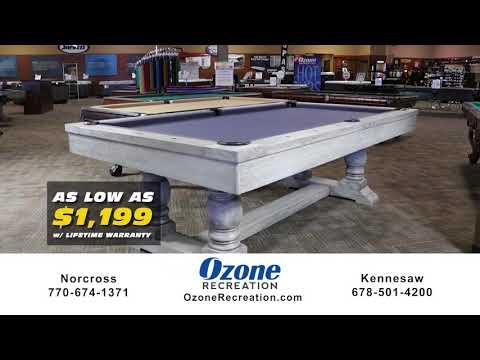Atlanta Pool Table Sale | The Best Pool Tables Atlanta | Ozone Recreation