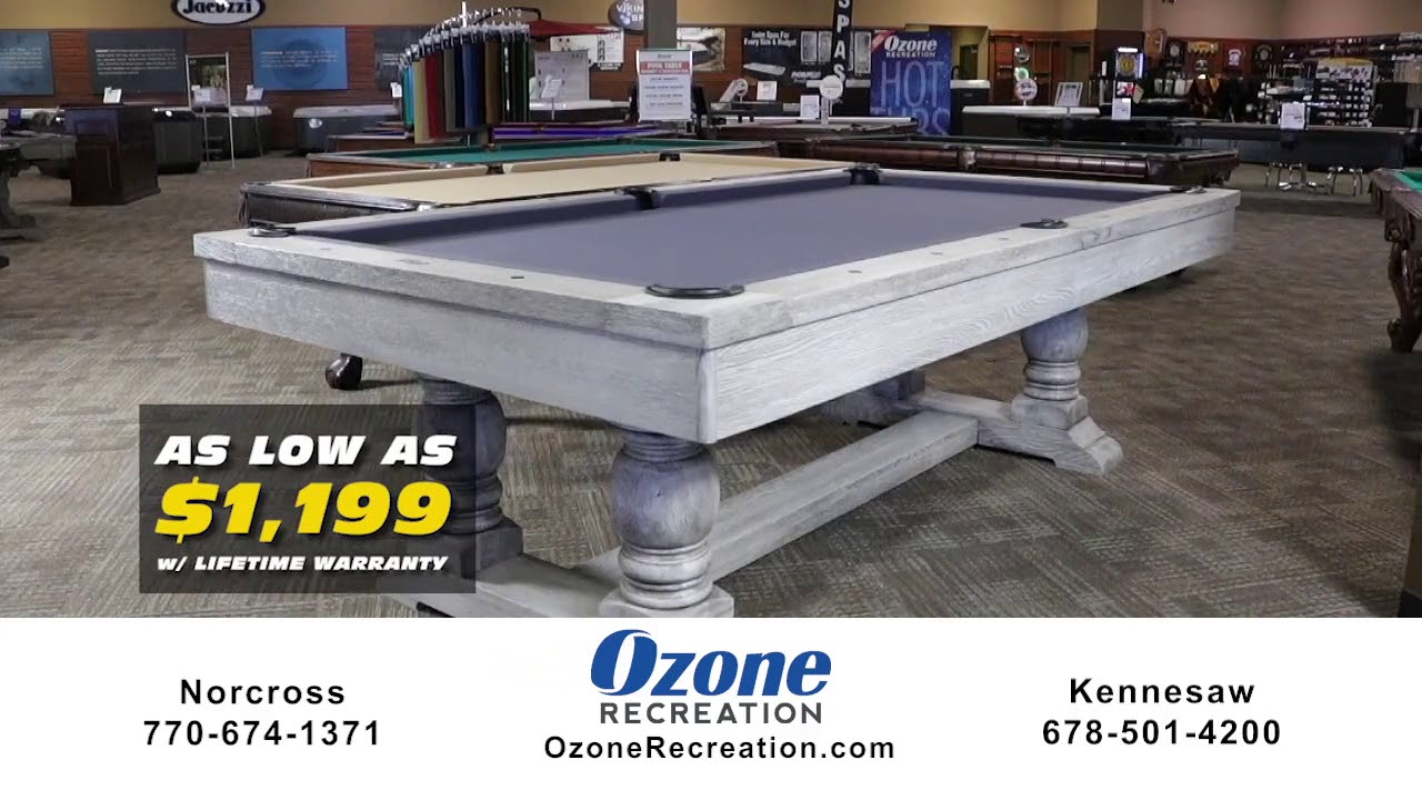 Superbe Atlanta Pool Table Sale | The Best Pool Tables Atlanta | Ozone Recreation
