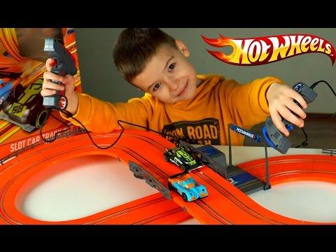 Hot Wheels RC Slot Car Race Track Set – Трасса и Машинки Хот Вилс – Обзор