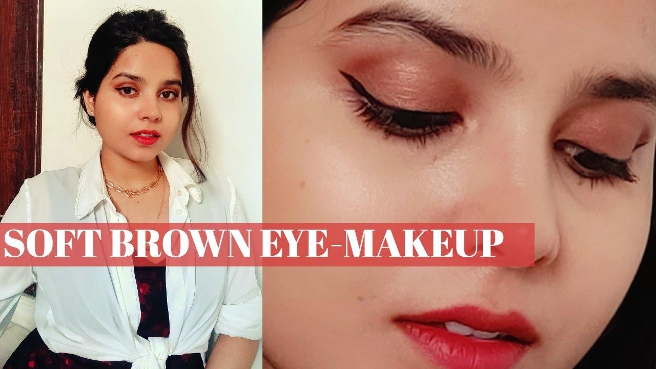 Soft Brown Eye-Makeup Look | Beginner's Eye-Makeup Tutorial
