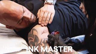 Elimination Tattoo: Hour Glass - Ink Master, Season 8