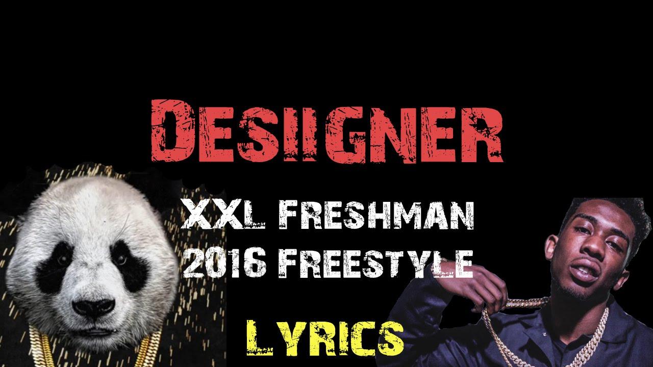 Desiigner - XXL Freshman 2016 Freestyle [ Lyrics ] - YouTube