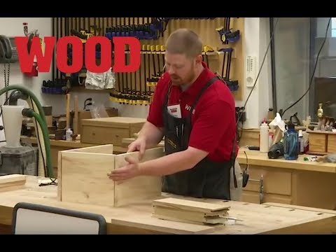 Building Cabinet Drawers WOOD magazine  WWW15