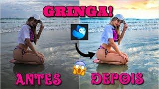 COMO EU EDITO MINHAS FOTOS EFEITO GRINGA!