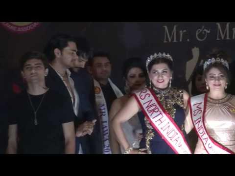Mrs & Mr IAWA India 2017 curtain raised by Deepak Balraj Vij & Daljeet Kaur Ms Universe 2016 Part3