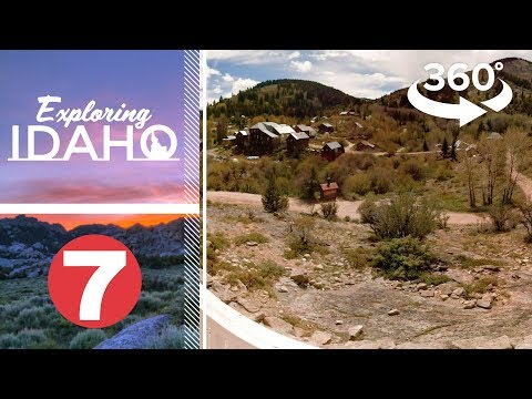 Walk Through The Historic Idaho Mining Ghost Town Of Silver City | Exploring Idaho 360
