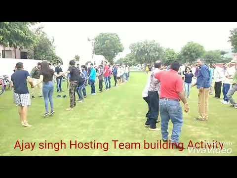 Ajay singh Hosting Team building Activity