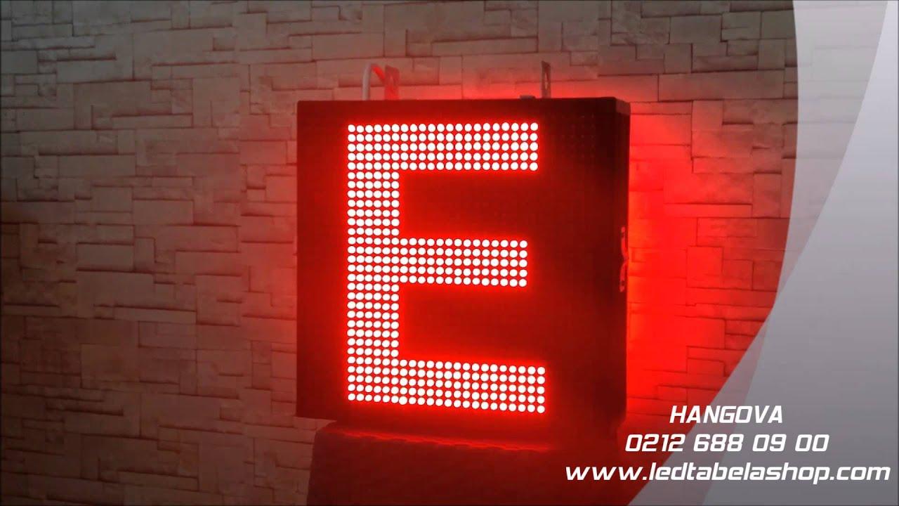 Hangova Yeni Nesil Led Eczane Tabelası - E Harfi
