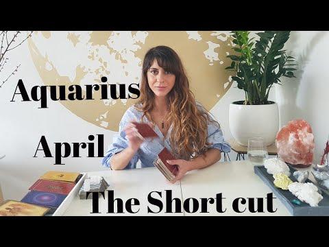 AQUARIUS - 'FALL 7 TIMES, STAND UP 8! - Short Cut April Reading