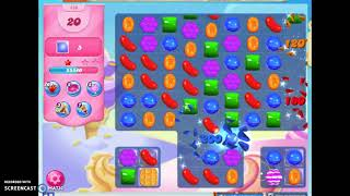 Candy Crush Level 480 Audio Talkthrough, 3 Stars 0 Boosters
