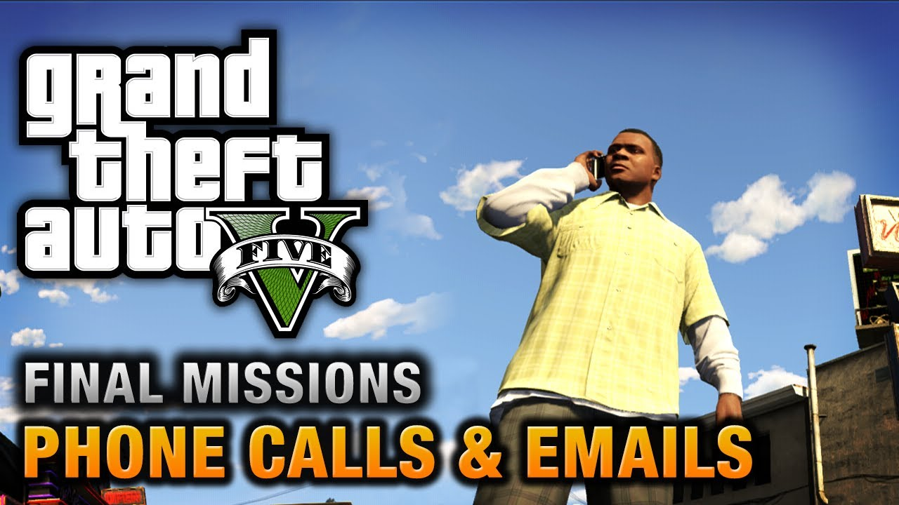 GTA 5 - Phone Calls & Emails after Final Missions