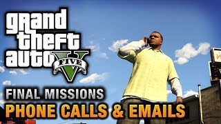 GTA 5 - Phone Calls & Emails after Final Missions thumbnail