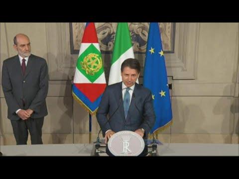 """Governo, Conte premier incaricato: """"Confermo la collocazione europea e internazionale dell'Italia"""""""