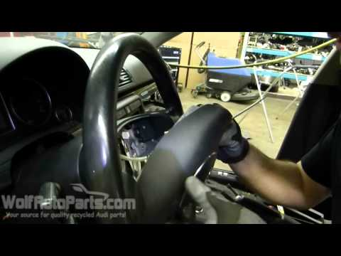 How to Remove Steering Wheel and Airbag - B6 Audi A4 2002-2005 (Wolf Auto Parts)