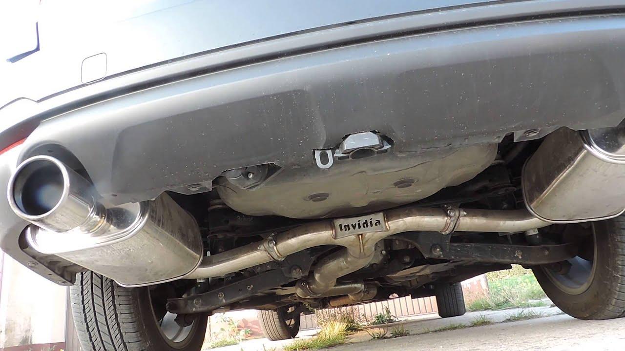 Subaru Forester Exhaust Sj Xt 2014 Invidia Q300 Dual