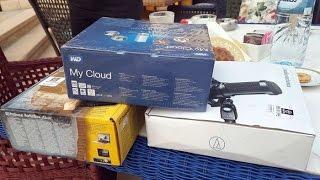 هذه هي الاجهزة الالكترونية التي إشتريت من دبي اليوم ! ( فتح العلب )