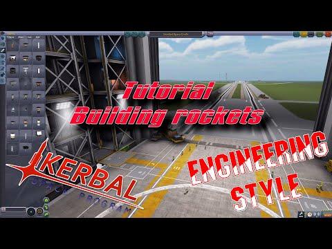 Kerbal Space Program - Rocket Building Tutorial Engineering Style