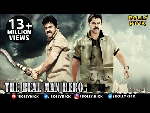 The Real Man Hero Full Movie  Hindi Dubbed Movies 2018 Full Movie  Venkatesh  Action Movies