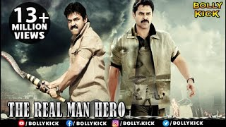 The Real Man Hero | Full Hindi Dubbed Movies | Venkatesh | Nayantara | Shriya