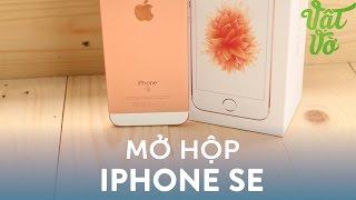 Vật Vờ| Mở hộp & đánh giá nhanh iPhone SE: nhỏ mà khoẻ