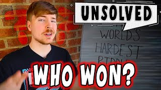 Solving Who Won the $100k MrBeast Riddle...