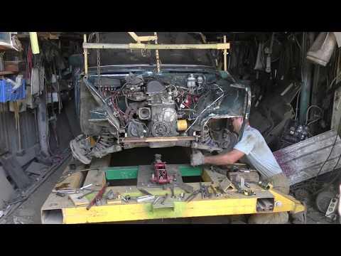 ВАЗ 2107. Замена передней балки, устранение  перекоса лонжеронов