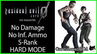 Resident Evil 0 Zero HD Remaster (PC) - Hard Mode, No Damage, No Infinite Ammo