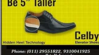 CELBY HEIGHT INCREASING ELEVATOR SHOES FORMAL COLLECTION 2013 720p