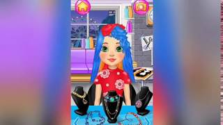 Fun girl kids games| Barbie doll hairstyle |makeover games