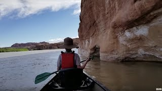 Canoe River Camping In Utah's Desert Red Rock Country! Firebox Camp Cooking!