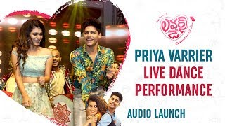 Priya Prakash Varrier LOVELY Dance Performance | Allu Arjun | Lovers Day Telugu Movie Audio Launch