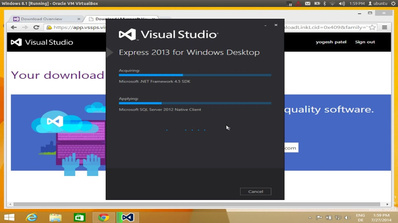 How To Download And Install Visual Studio Express On