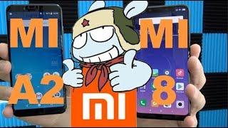 Xiaomi Mi 8 Vs Xiaomi A2, 200€ de plus font il vraiment la différence ?