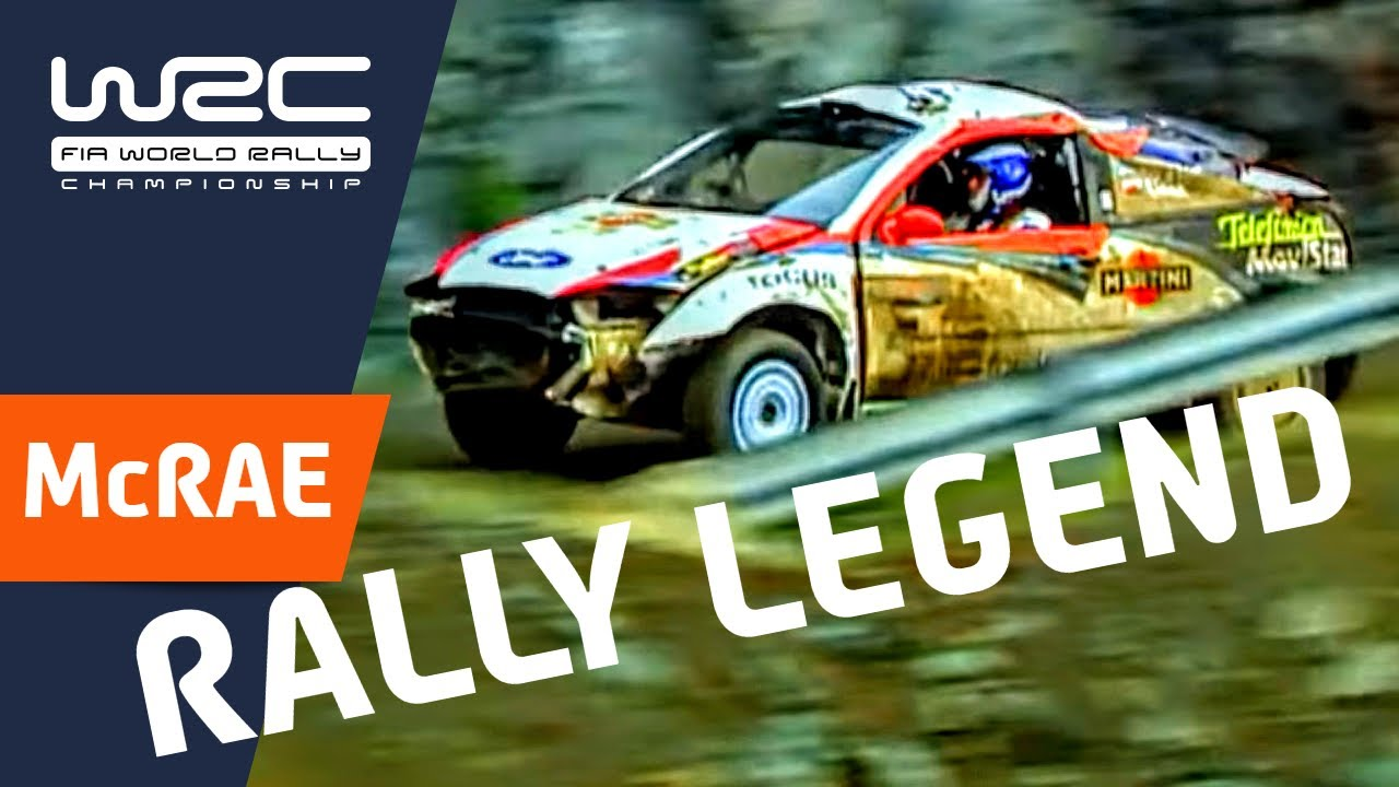 WRC History: Craziest Moments/ Colin McRae - YouTube