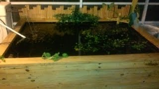 How To Make A Wood Koi Pond