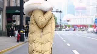 [해외직구] 패딩 야상녀 2019 신상 겨울옷 한장 롱…