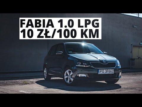 Skoda Fabia 1.0 LPG - 10zł/100km challenge