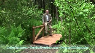 Cezanne's Red Cedar Trail Bridge With Derek Fell