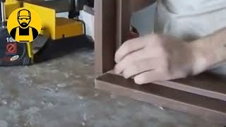 Сборка дверной коробки без торцовочной пилы(Как собрать дверную коробку своими руками без торцовочной пилы. Очень просто. Нужен минимум инструментов...., 2014-12-14T11:16:11.000Z)