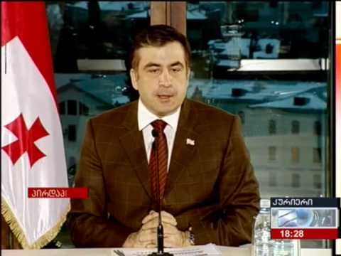 Mikheil Saakashvili makes false claim about Georgia's economy
