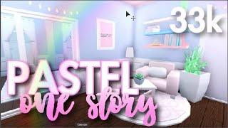 BLOXBURG | Pastel One Story 33k