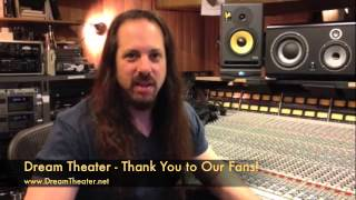 Dream Theater - Thank you to our fans for your support in Loudwire