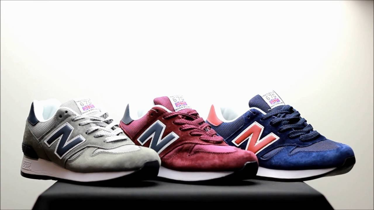 new product high quality new high Видео обзор/Review New Balance 670