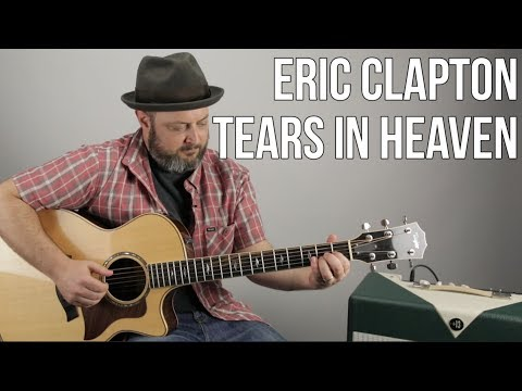 "How To Play ""Tears In Heaven"" On Guitar - Eric Clapton, Acoustic Fingerstyle"