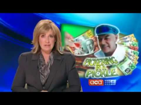 Larry Pickering's Betting Scam  Ken Gamble features on A Current Affair