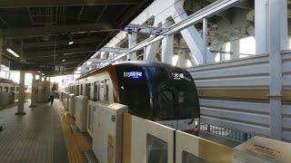 【有楽町線の終点】東京メトロ有楽町線  10000系  新木場駅  発着シーン