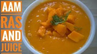 महाराष्ट्र कोकान का Aam ras and Aam juice   Mango Juice Recipe   Mumbai Special