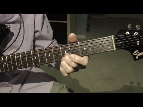 how to play rawhide on guitar