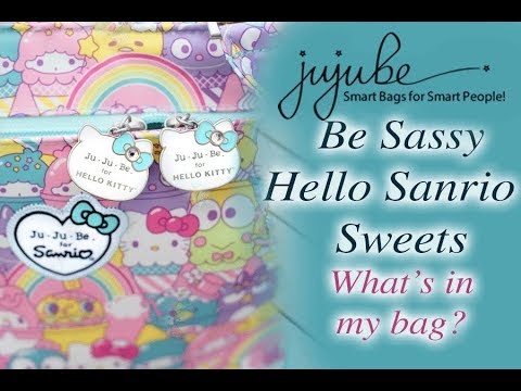 5b0321401 Jujube be Sassy Packing Video - Hello Sanrio Sweets | What's in my Diaper  bag?